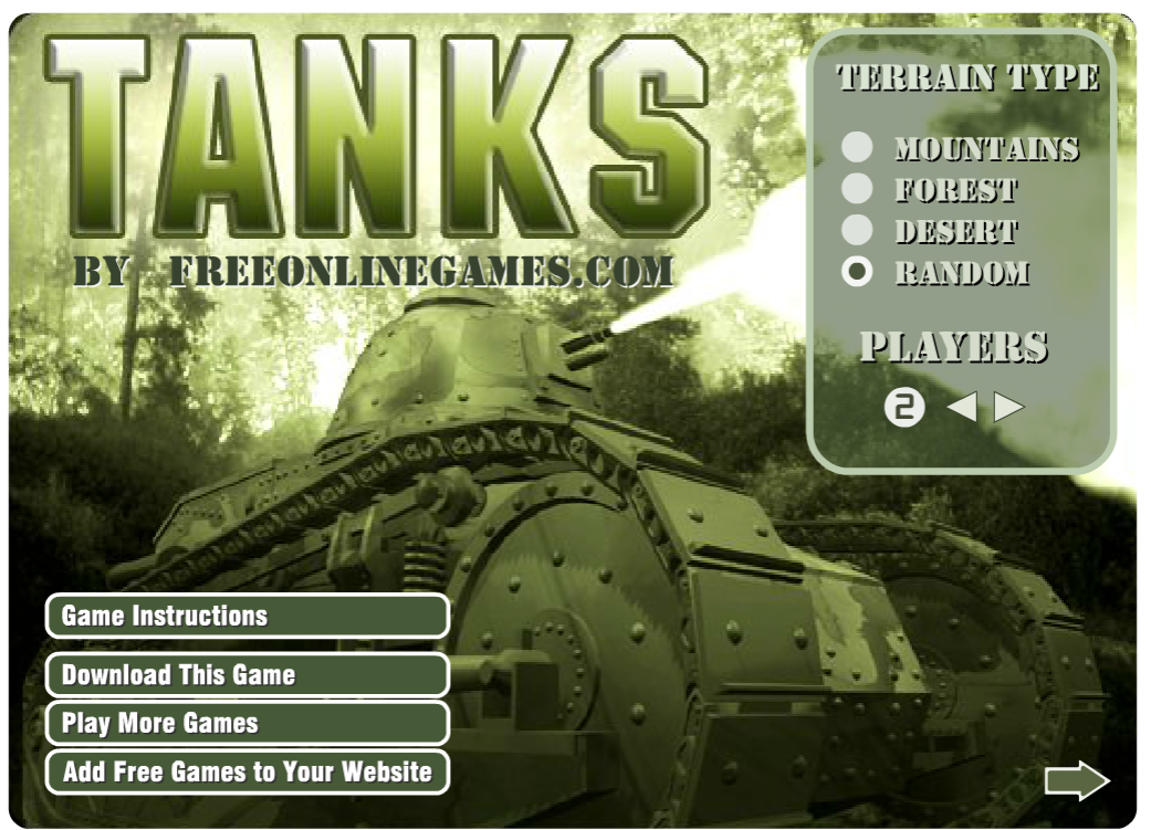 Online Game Tanks
